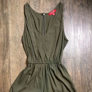 Olive Green Romper - Guess